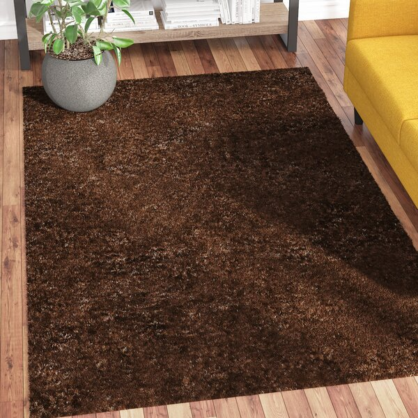 Catharine Hand-Woven Cocoa Area Rug by Zipcode Design