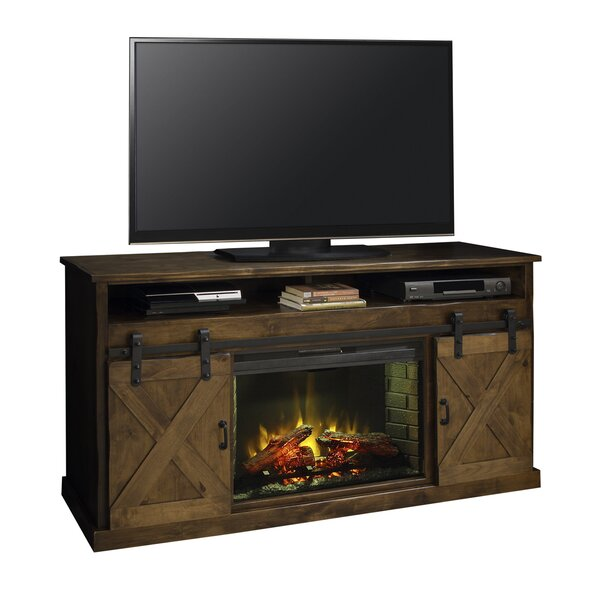 Pullman 66 TV Stand with Fireplace by Loon Peak