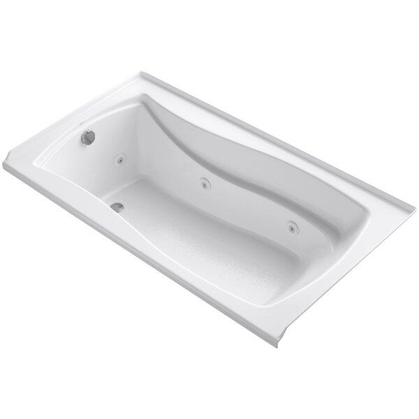 Mariposa Alcove 66 x 36 Whirpool Bathtub by Kohler