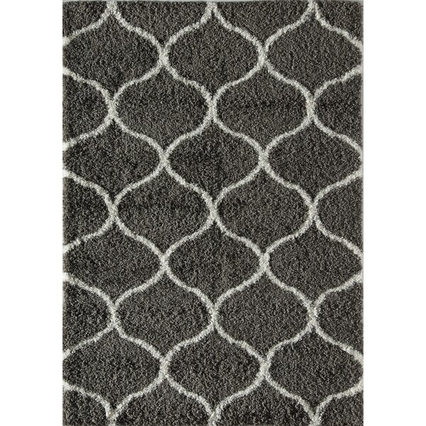 Una Links Charcoal/Ivory Area Rug by Rugs America