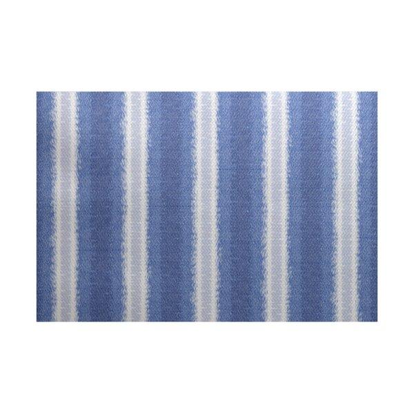 Navarro Blue/Gray Indoor/Outdoor Area Rug by Ebern Designs