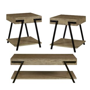 Tolan 3 Piece Coffee Table Set By Union Rustic