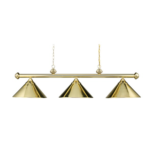 Walt 3-Light Billiard Light by Ebern Designs