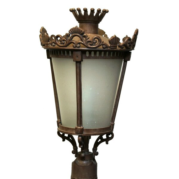 Phillipstown 4 Light Post Lantern by Alcott Hill