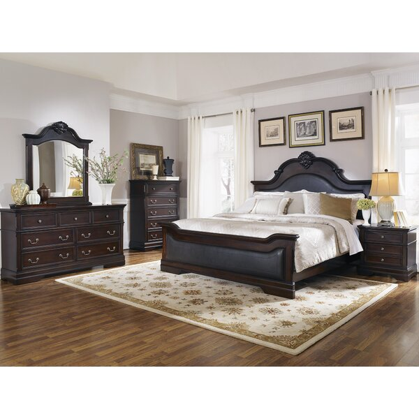 Shirleen Upholstered Standard Bed by Darby Home Co