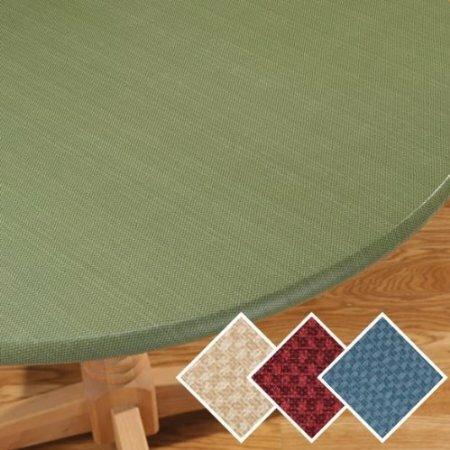 Violet Linen Basketweave Elastic Table Cover Amp Reviews