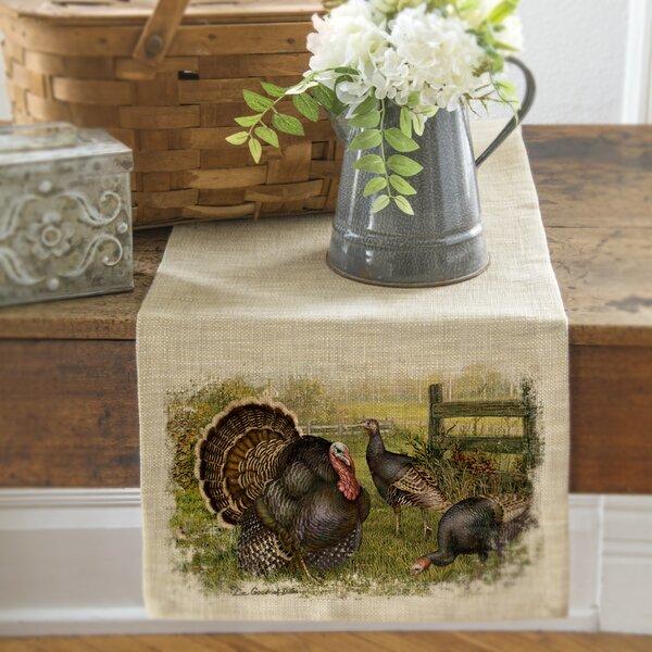 Spaulding Wild Turkey Runner by August Grove