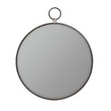 Matthias Industrial Beveled Accent Mirror by Three Posts