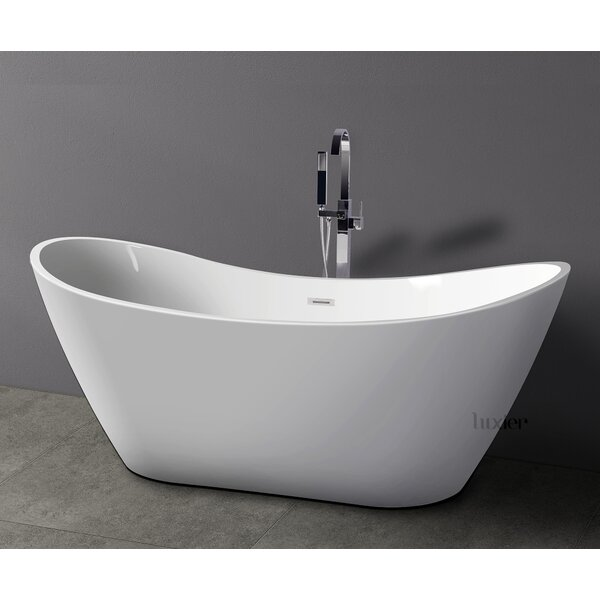 Luxury 70 x 30 Freestanding Soaking Bathtub by Luxier