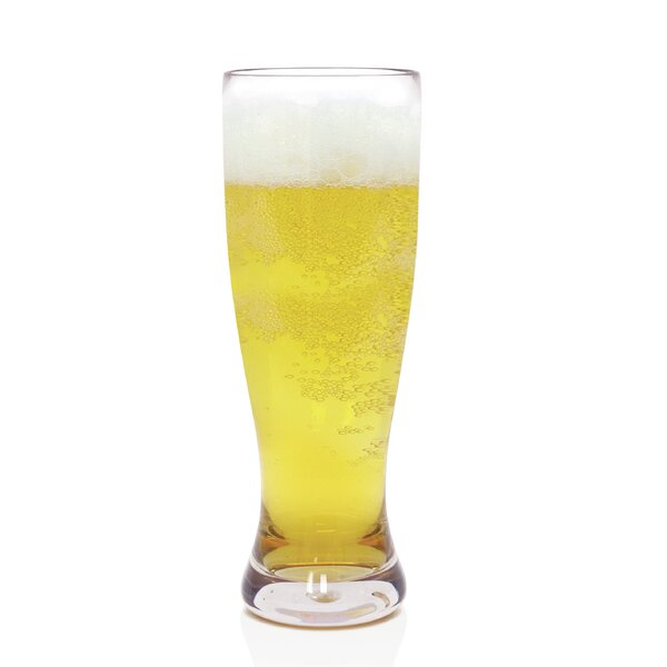 Louanne Pilsner Glass 24 oz. Plastic (Set of 4) by Mint Pantry