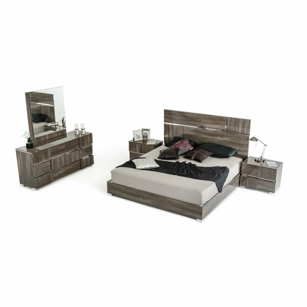 Falbo King Platform Bedroom Set (Set of 2) by Orren Ellis