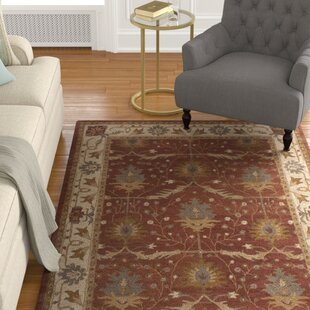 Read Reviews Exmoor Red Area Rug ByCharlton Home