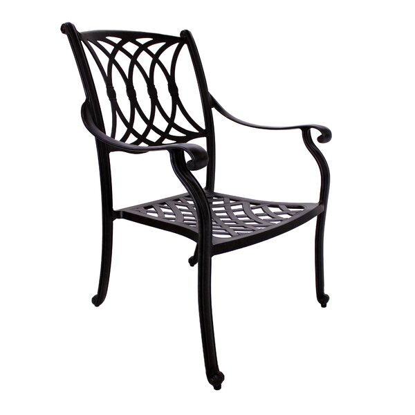 Islais Stacking Patio Dining Chair (Set of 2) by Darby Home Co