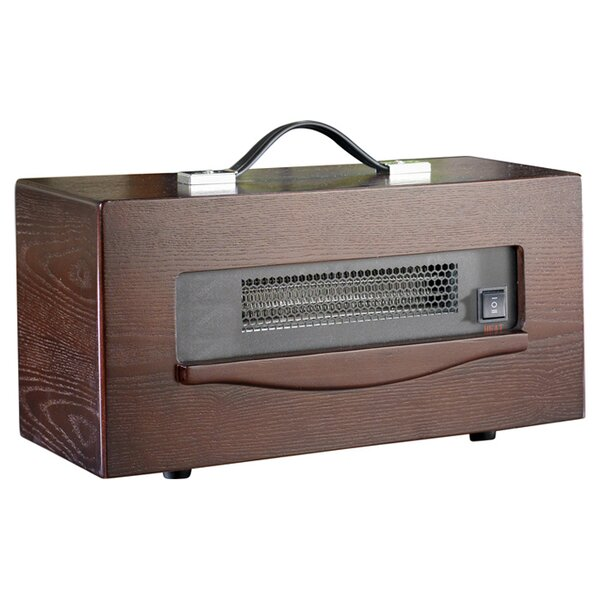 Dynamic 1,500 Watt Portable Electric Infrared Cabinet Heater by Dynamic Infrared