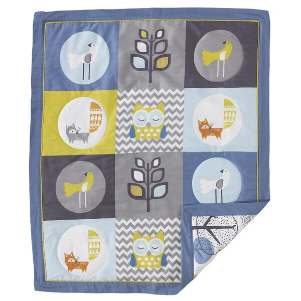 Woods Baby Quilt by Lolli Living