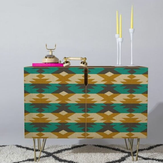 Native Diamond Accent Cabinet by East Urban Home