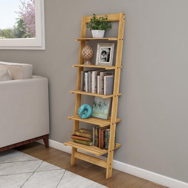 Wabansia Ladder Bookcase By Highland Dunes