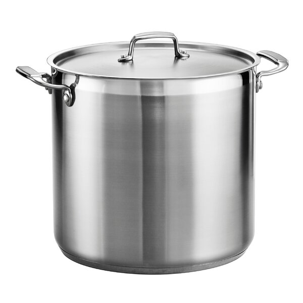 Gourmet Stainless Steel Stock Pot with Lid by Tramontina