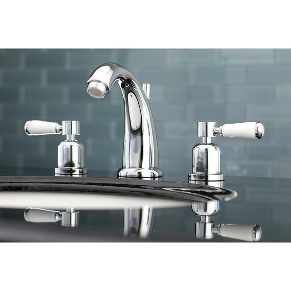 Paris Widespread Bathroom Faucet with Drain Assembly