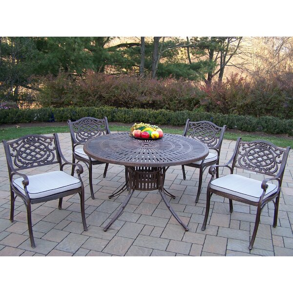 Sunray Mississippi Dining Set with Cushions by Oakland Living