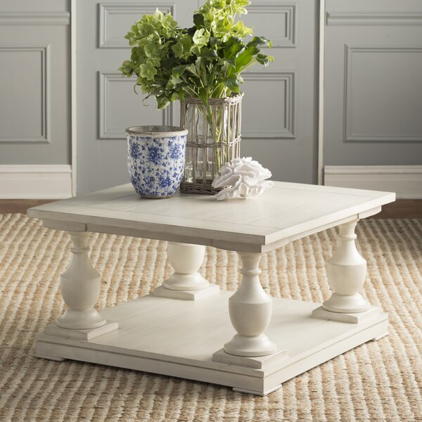 Warwick Sandalfoot Coffee Table by Rosecliff Heights