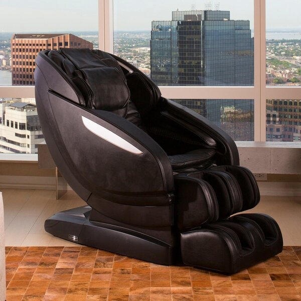 Reclining Adjustable Width Heated Full Body Massage Chair By Infinity