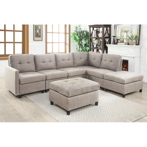 Check Out Our Selection Of New Sol Modular Sectional with Ottoman by Brayden Studio by Brayden Studio