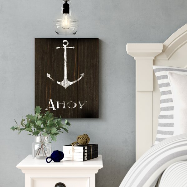 Anchor Wood Wall Art by Birch Lane™
