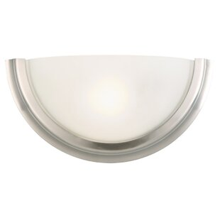 Read Reviews Fairfax 1-Light Wall Sconce By Design House