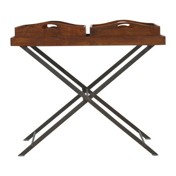 Boyce Metal Cross Legs Tray Table by Fleur De Lis Living| @ $246.99