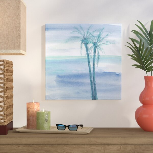 Peaceful Dusk II Painting Print on Wrapped Canvas by Bay Isle Home