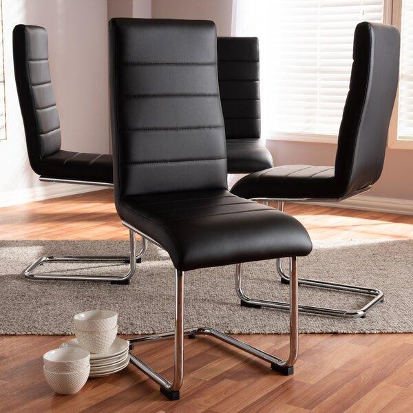 Kripp Upholstered Dining Chair (Set of 4) by Orren Ellis