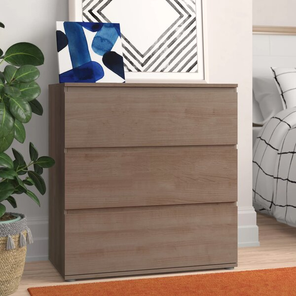 Norwell 3 Drawer Bachelors Chest by Zipcode Design