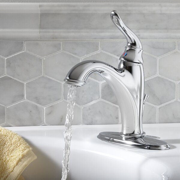 Princeton Single hole Bathroom Faucet with Drain A