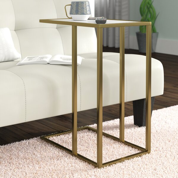 Jorgensen Asymmetrical Modern End Table By Brayden Studio