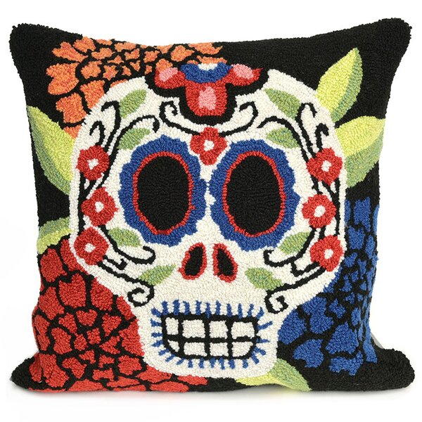 Mrs. Muerto Indoor/Outdoor Throw Pillow by The Holiday Aisle