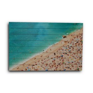 Busy Beach Photographic Print by Gallery 57