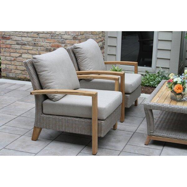 Dillard 4 Piece Sofa Set With Cushions