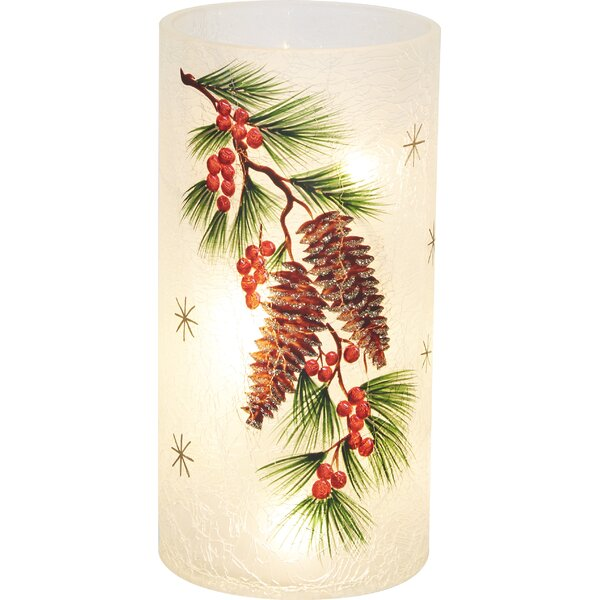 Pinecone LED Lamp by The Holiday Aisle