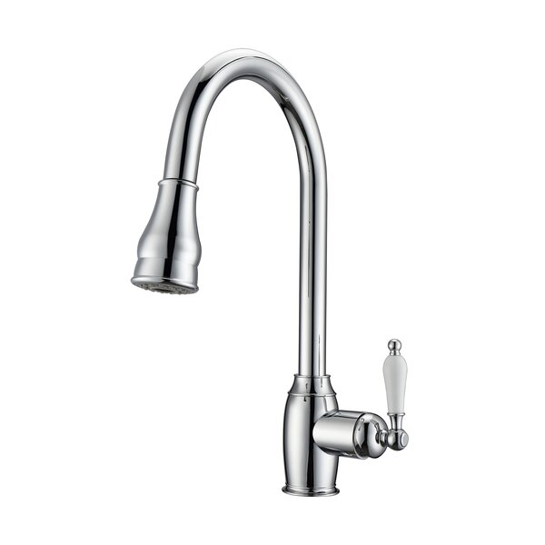 Bay Pull Down Single Handle Kitchen Faucet by Barclay