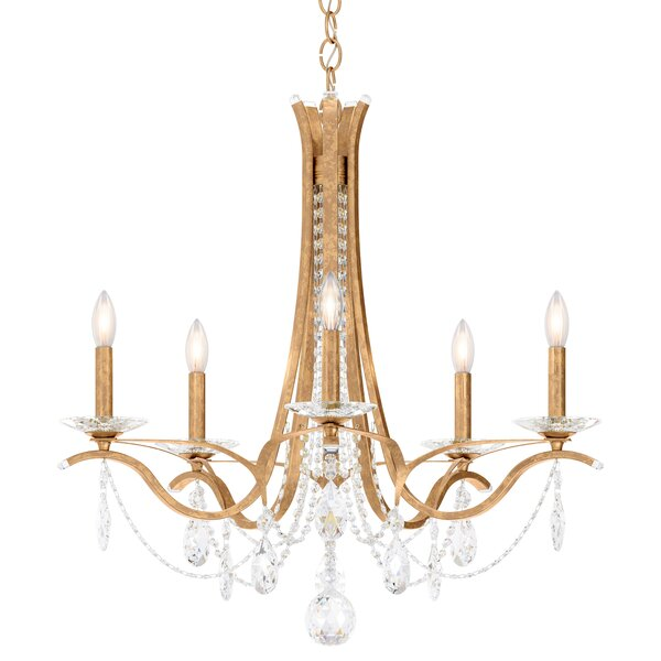 Vesca 5-Light Chandelier by Schonbek