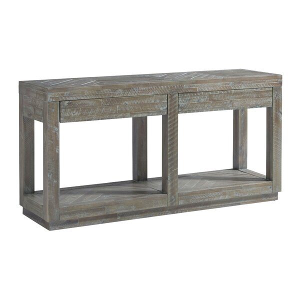 Outdoor Furniture Maryville 2 Drawer And Bottom Shelf Console Table
