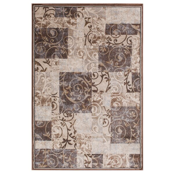 Ellen Brown/Tan Area Rug by Threadbind