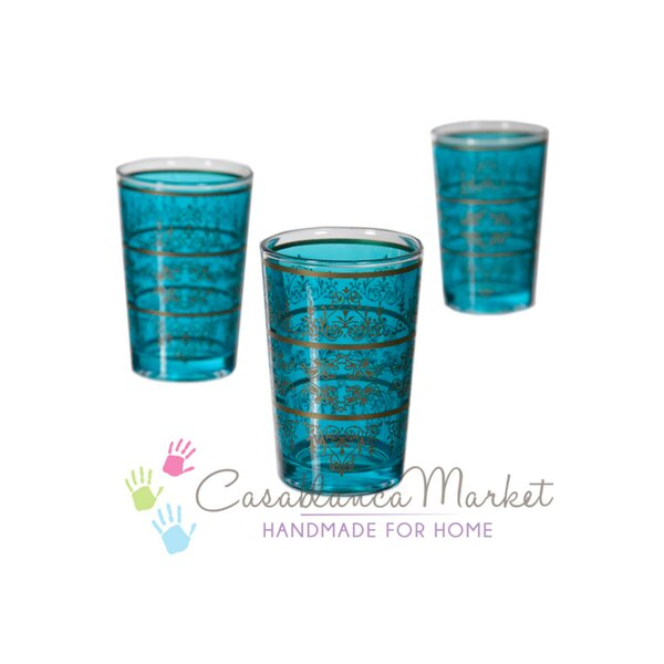 Tunis 8 oz. Everyday Glassware (Set of 6) by Casablanca Market