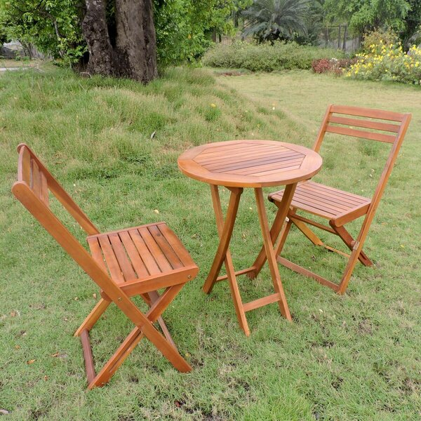 Bristol 3 Piece Bistro Set By Beachcrest Home