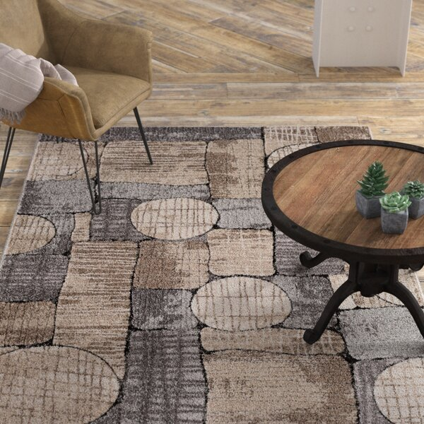 Chantel Gray/Taupe/Cream Area Rug by Williston Forge