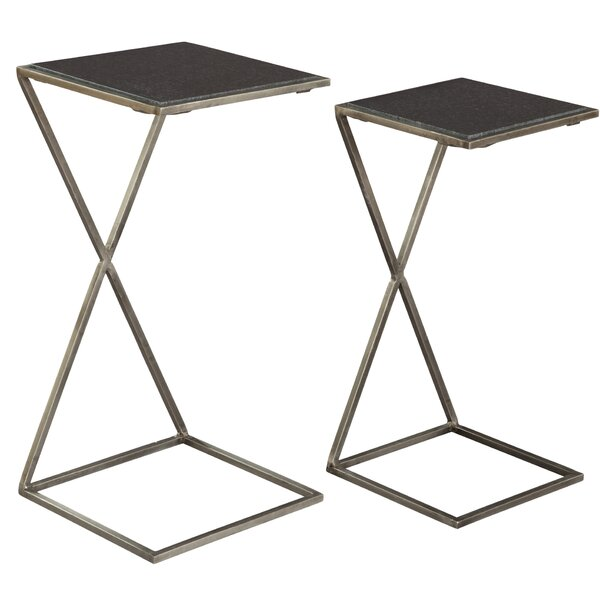 Peters 2 Piece Nesting Tables By 17 Stories