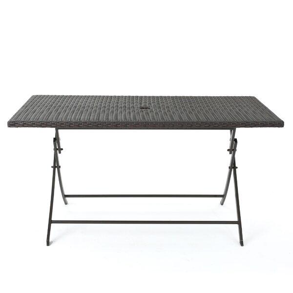 Belynda Foldable Dining Table by Orren Ellis