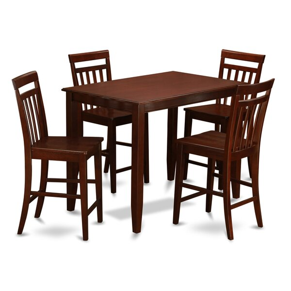 Looking for Buckland 5 Piece Counter Height Dining Set By East West Furniture Wonderful