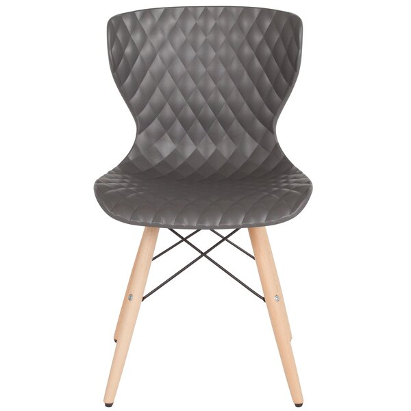 Glaze Contemporary Dining Chair by Wrought Studio
